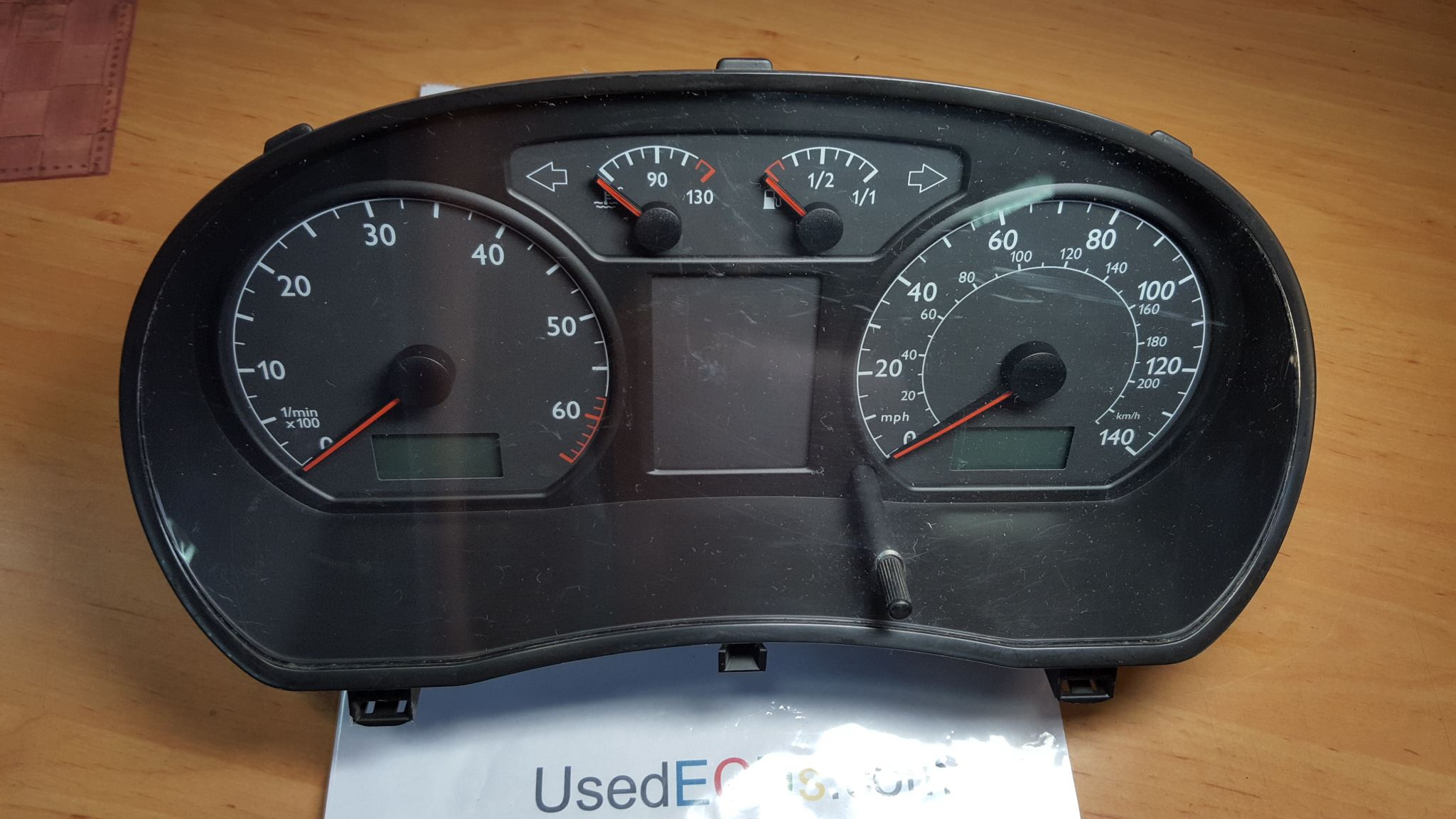 VW Volkswagen Polo, Speedo, Speedometer, Instrument Cluster, VDO