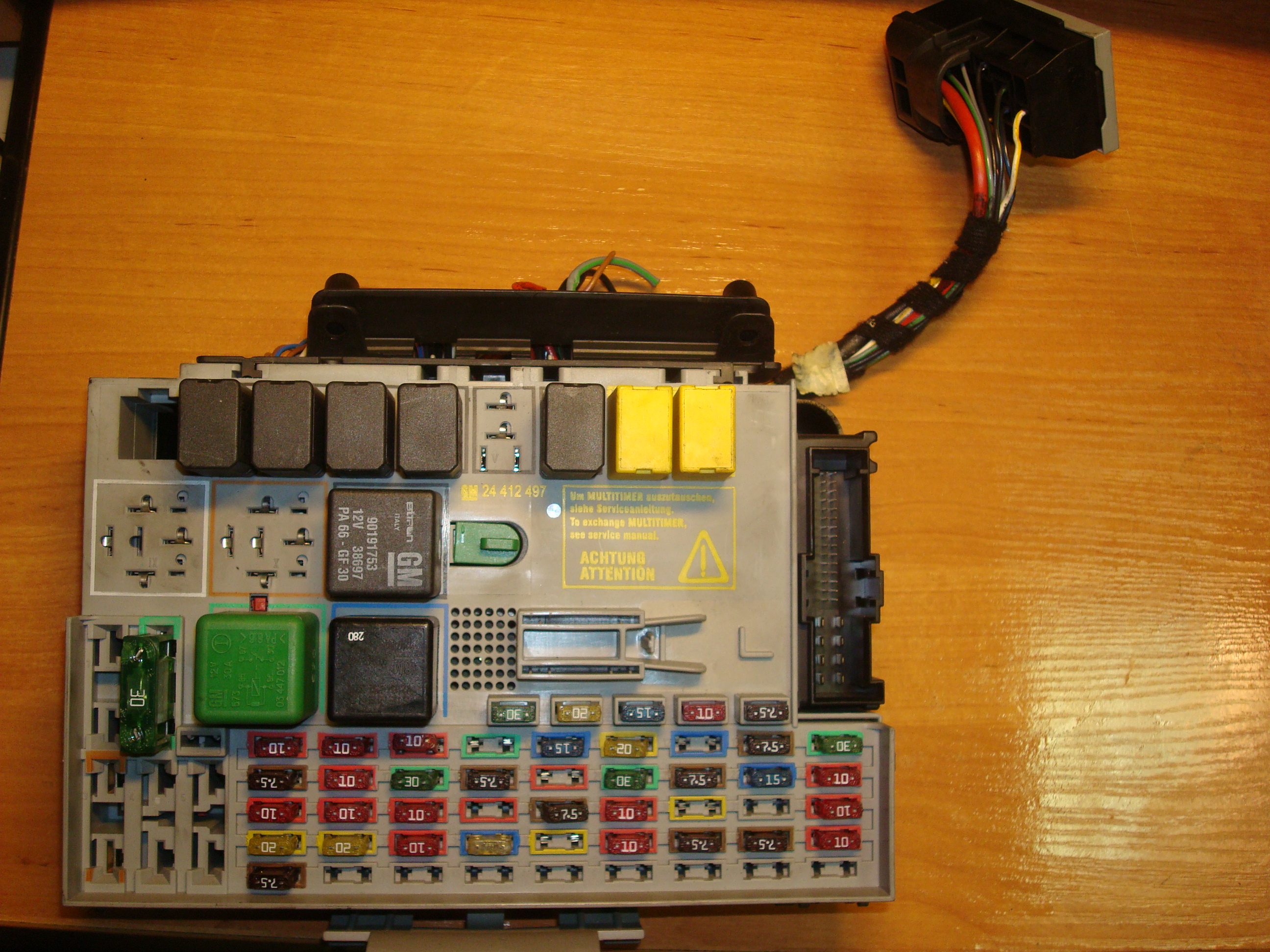 D0777 Fuse Box In Opel Zafira | Digital Resources on