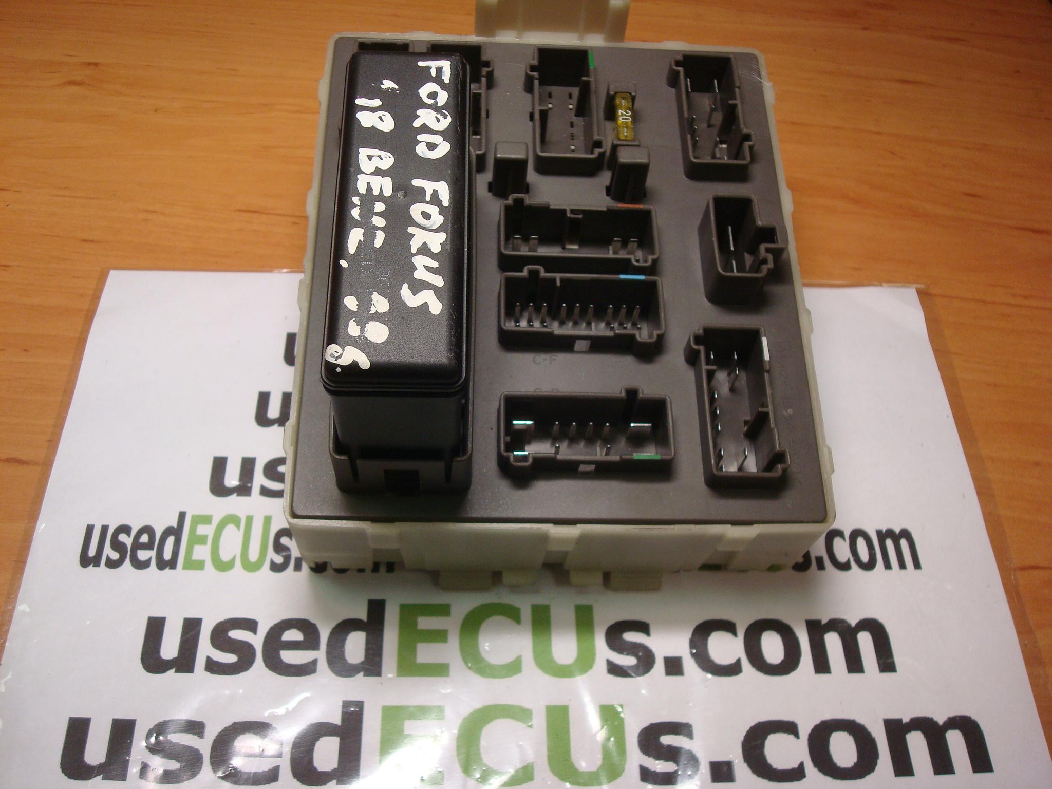 ford focus, 98-04, petrol fuse box, 98ag14a073ce, 518236609 - usedecus.com  catalog - usedecus.com