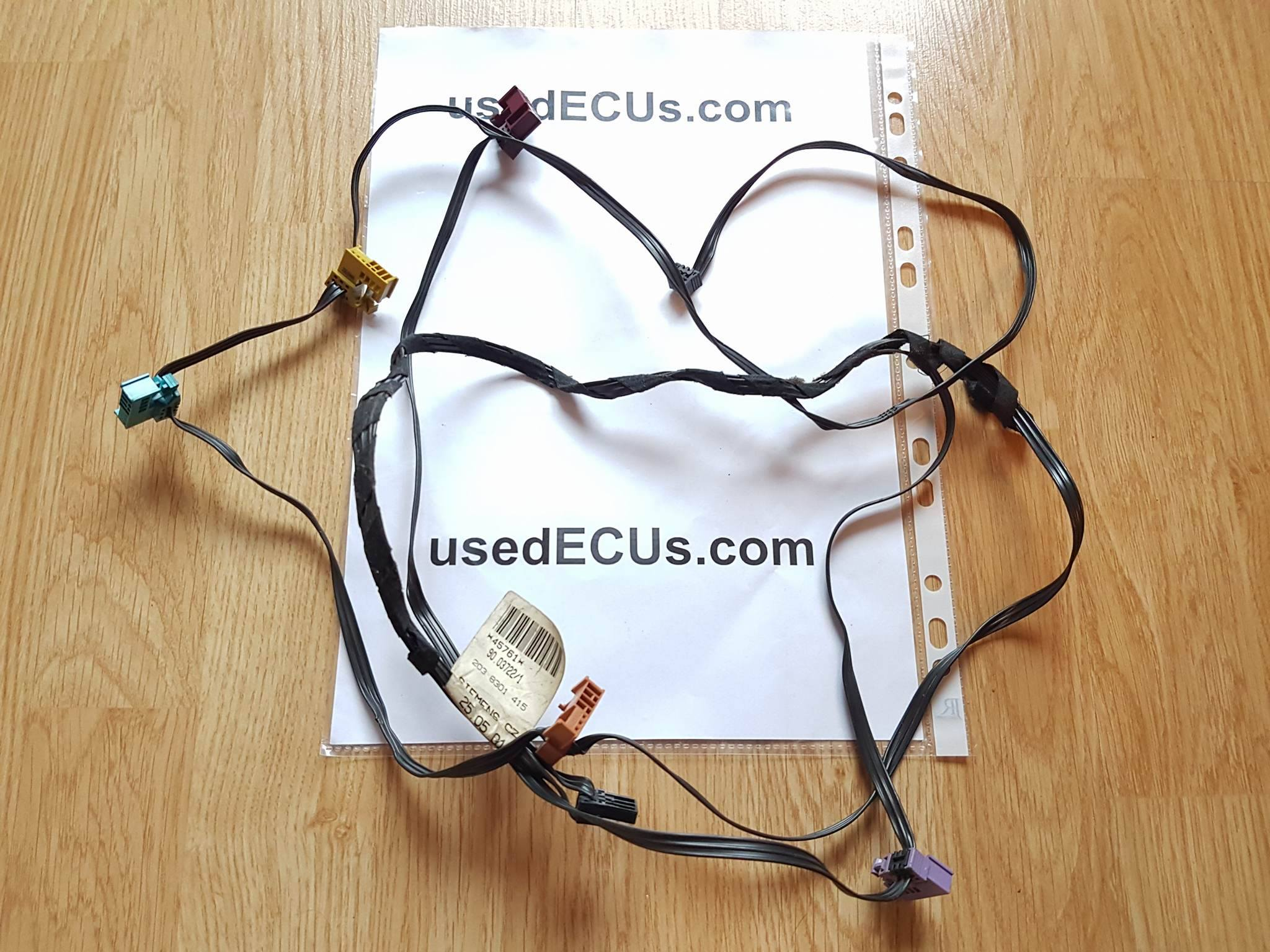 Mercedes Benz W203 Interior Heater Motor Wiring Loom Harness Engine 2038301415 Article