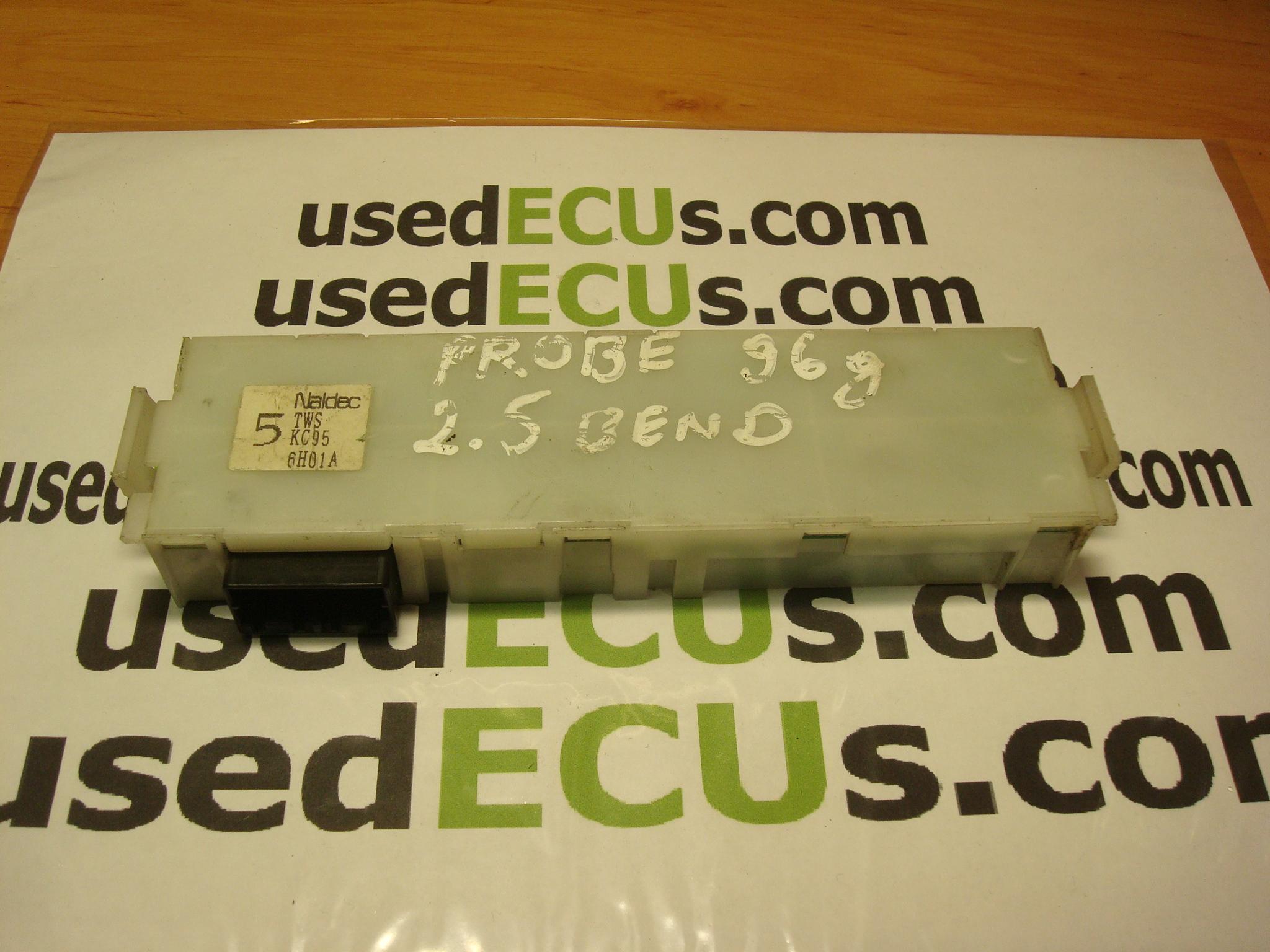 ford probe, 95, 2,5 petrol, fuse box ecu, naldec, 5 tws kc95 6h01a -  usedecus.com  catalog - usedecus.com