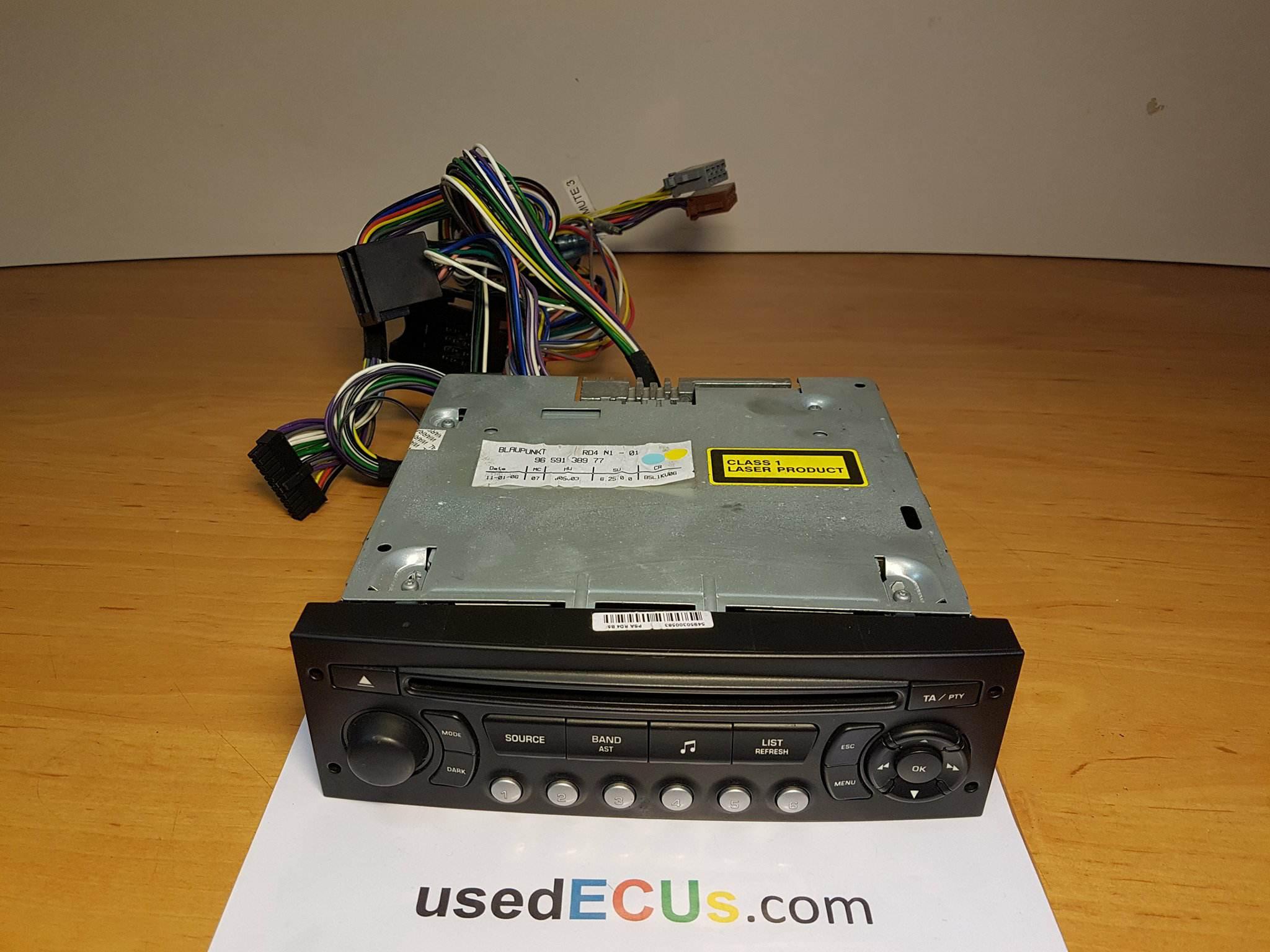 Radioschalter Radiobedienung Citroen Berlingo C4 C5 Peugeot 206 307 96637233XT
