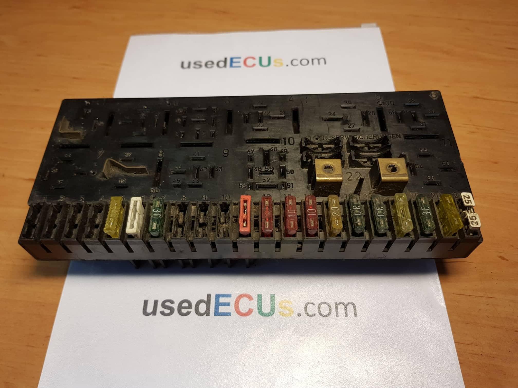 audi 80, 100 fuse box, reservesicherungen - usedecus.com audi 80 fuse box  catalog - usedecus.com