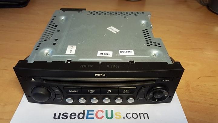 Peugeot 407 2004 Radio Stereo Cd Player Unidad