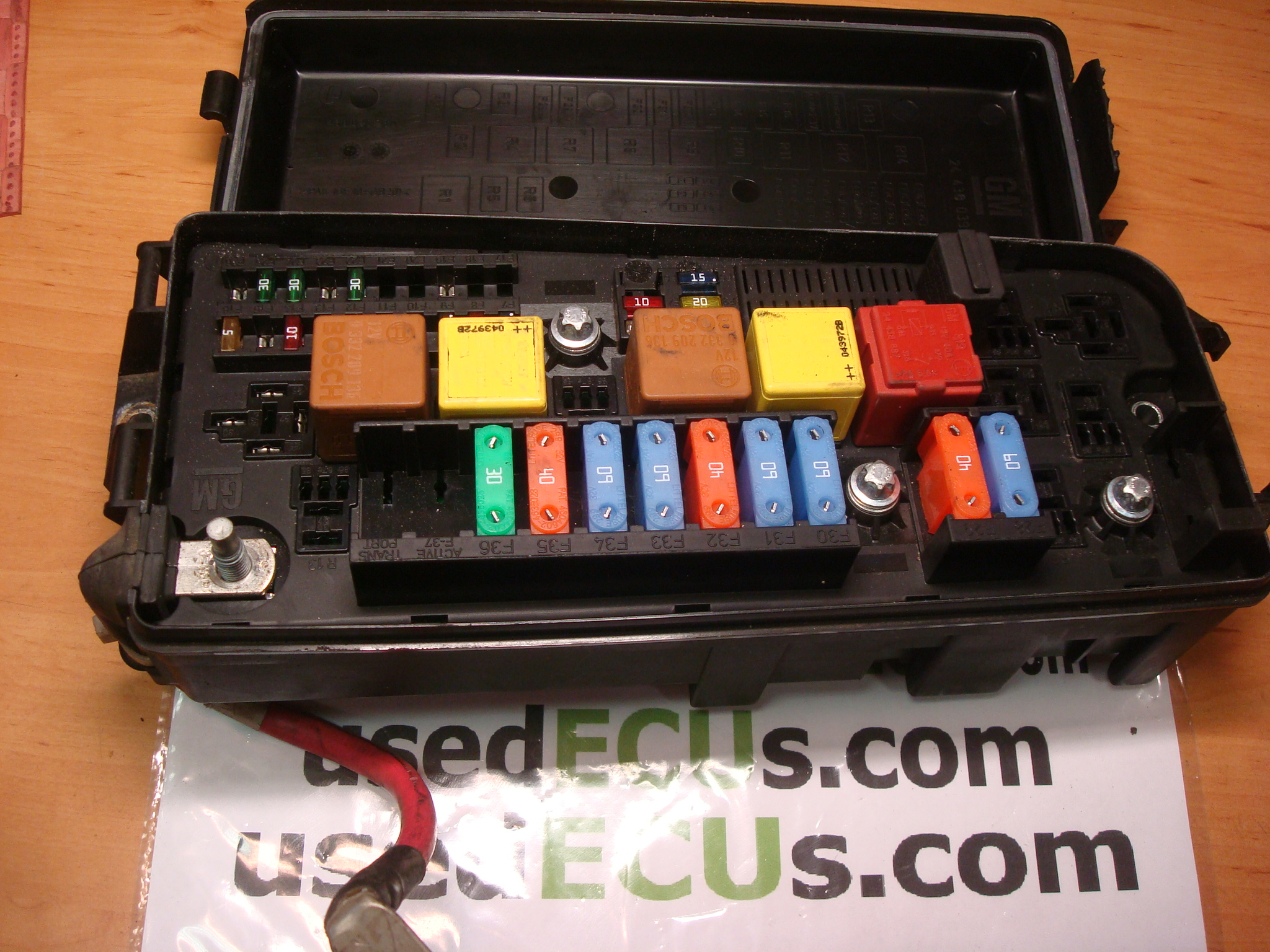 Opel Vauxhall Vectra C Fusebox With Lid Gm 13187505 Fuse Box Article 519066500 13 187 505 460023260