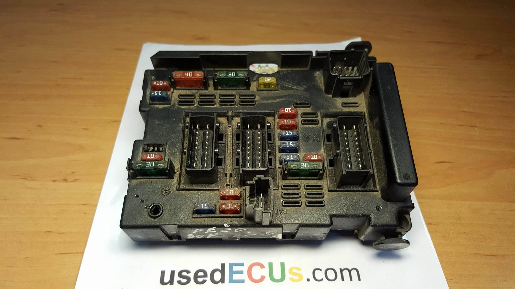 Peugeot, Citroen, Fusebox, Ralay Box, Delphi, BSM B4, (broken mount)  (Article: 9643537980, 12618955)