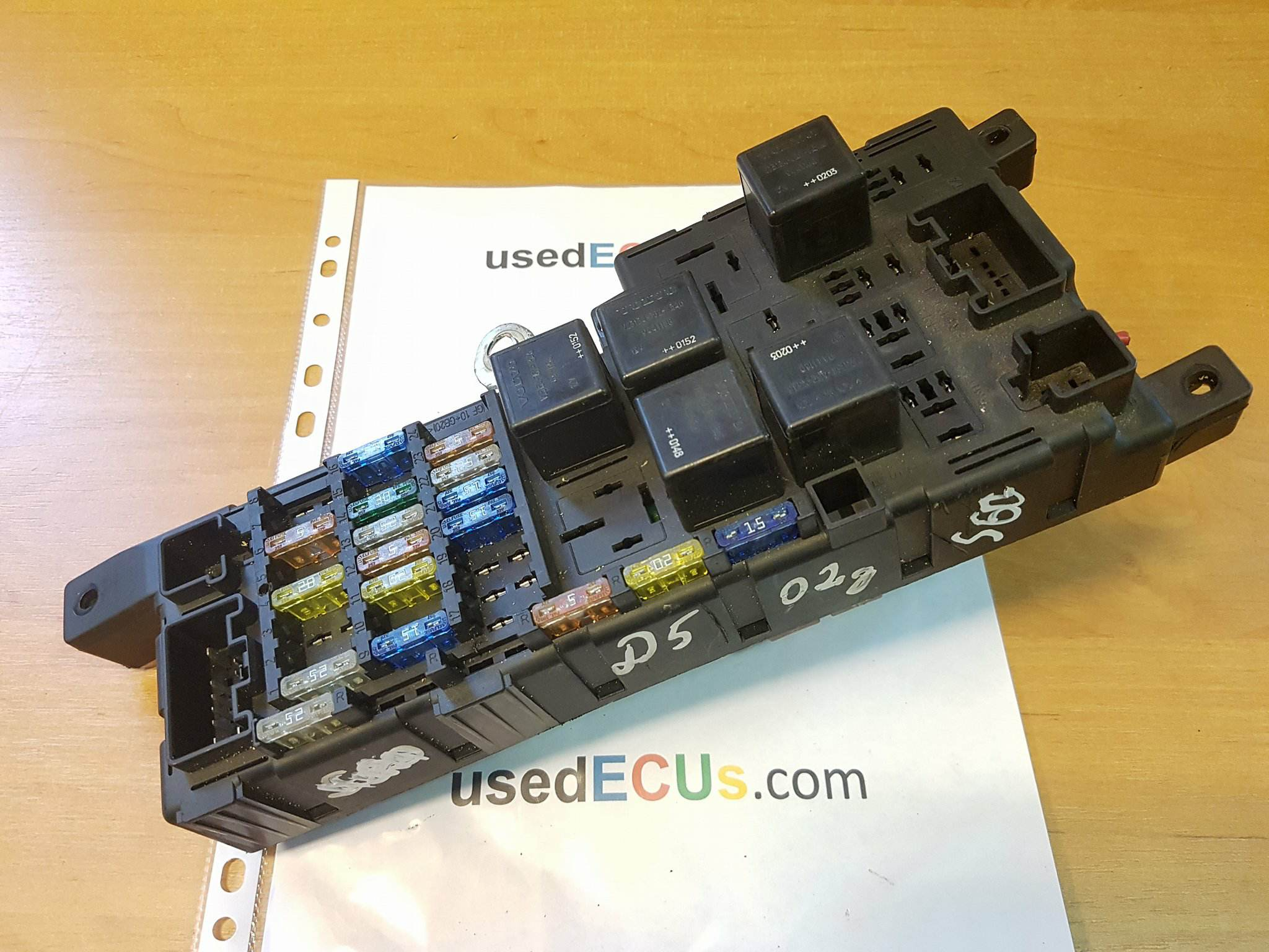 Volvo V70 S60 24 Turbo D5 Engine Fuse Box Relays 8637841 Toyota Avensis 2007 Price