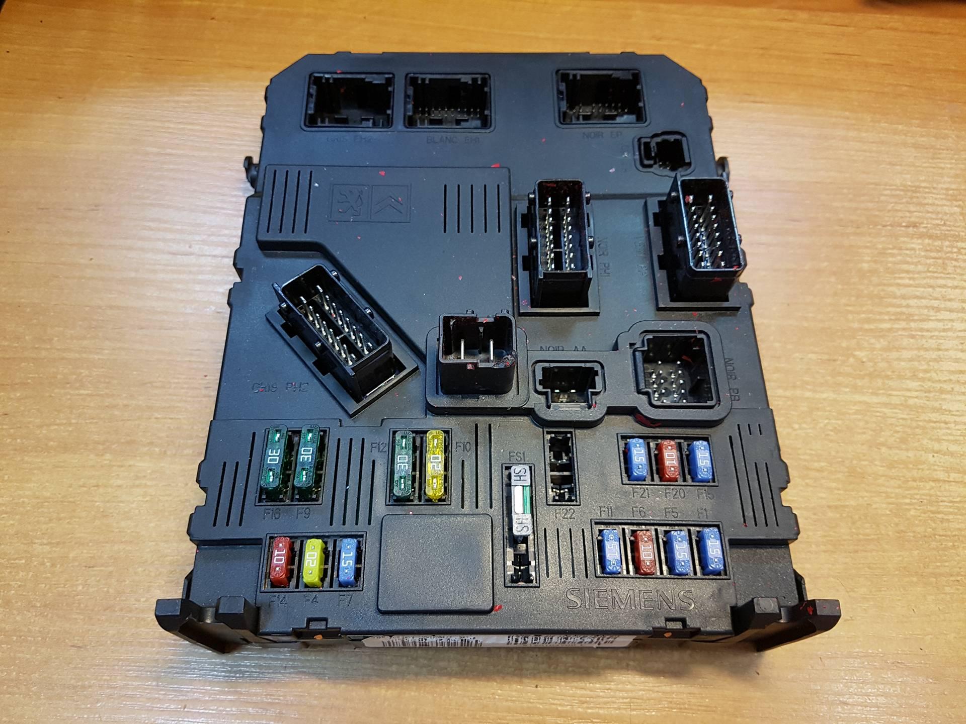 Peugeot 407 Bsi Fuse Box Control Module Unit 9655708380 Article