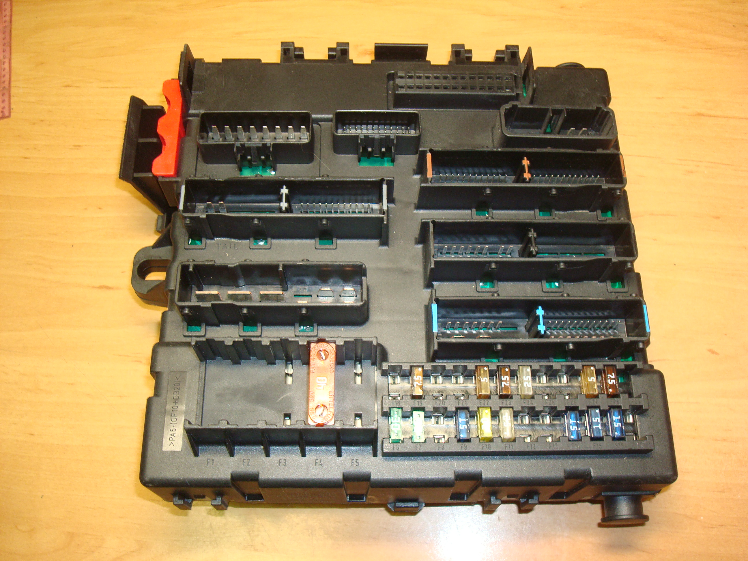 Opel, Vauxhall Vectra C, Fuse Box, ECU, 13125488 (Article: 13125488, 13 125  488, 519032106)