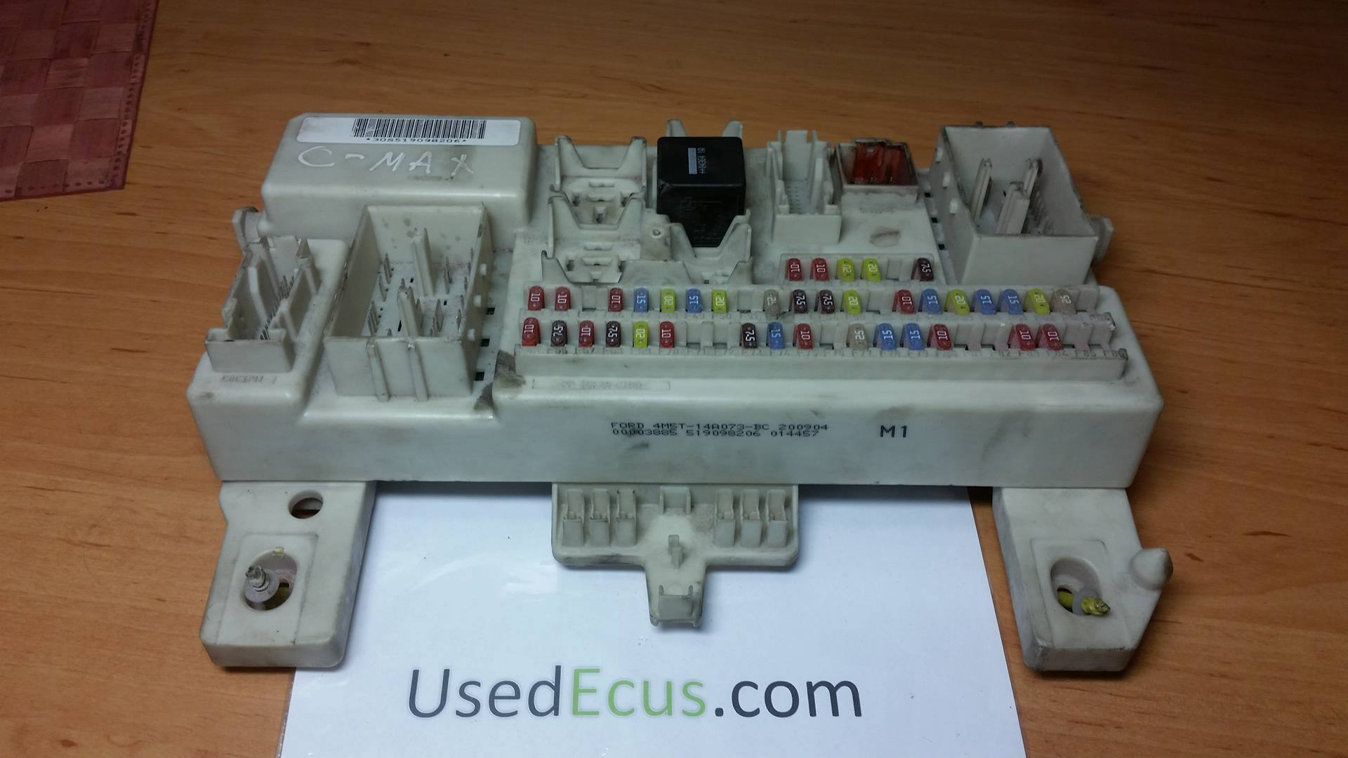 Fuse Box With Lock : Ford c max fuse box wiring library