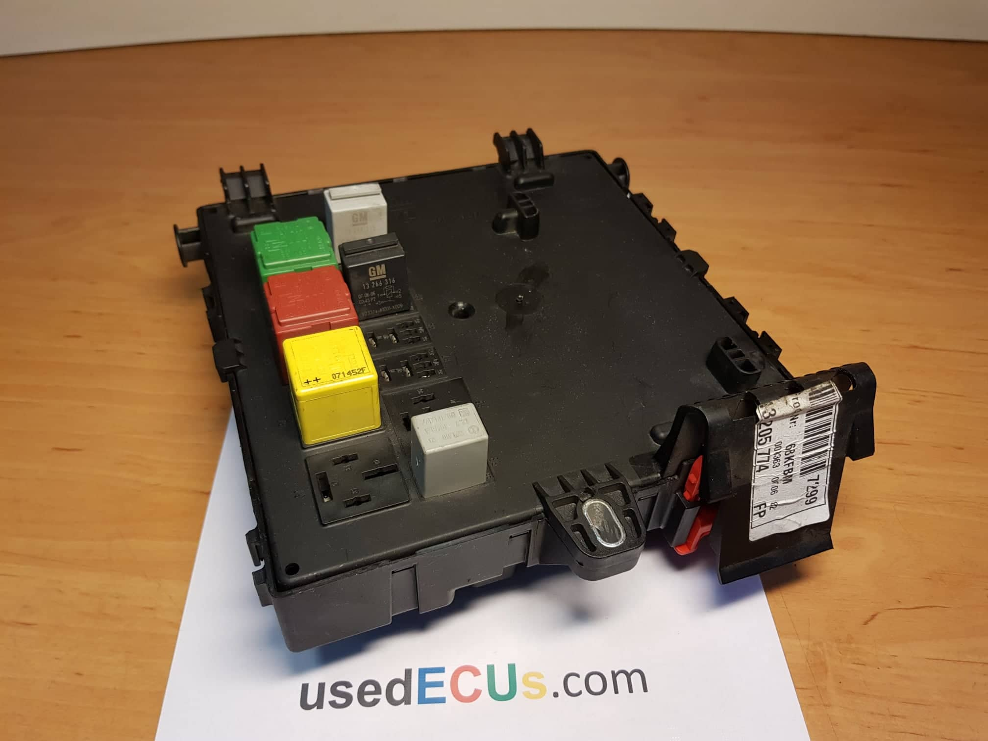 51 Plate Astra Fuse Box