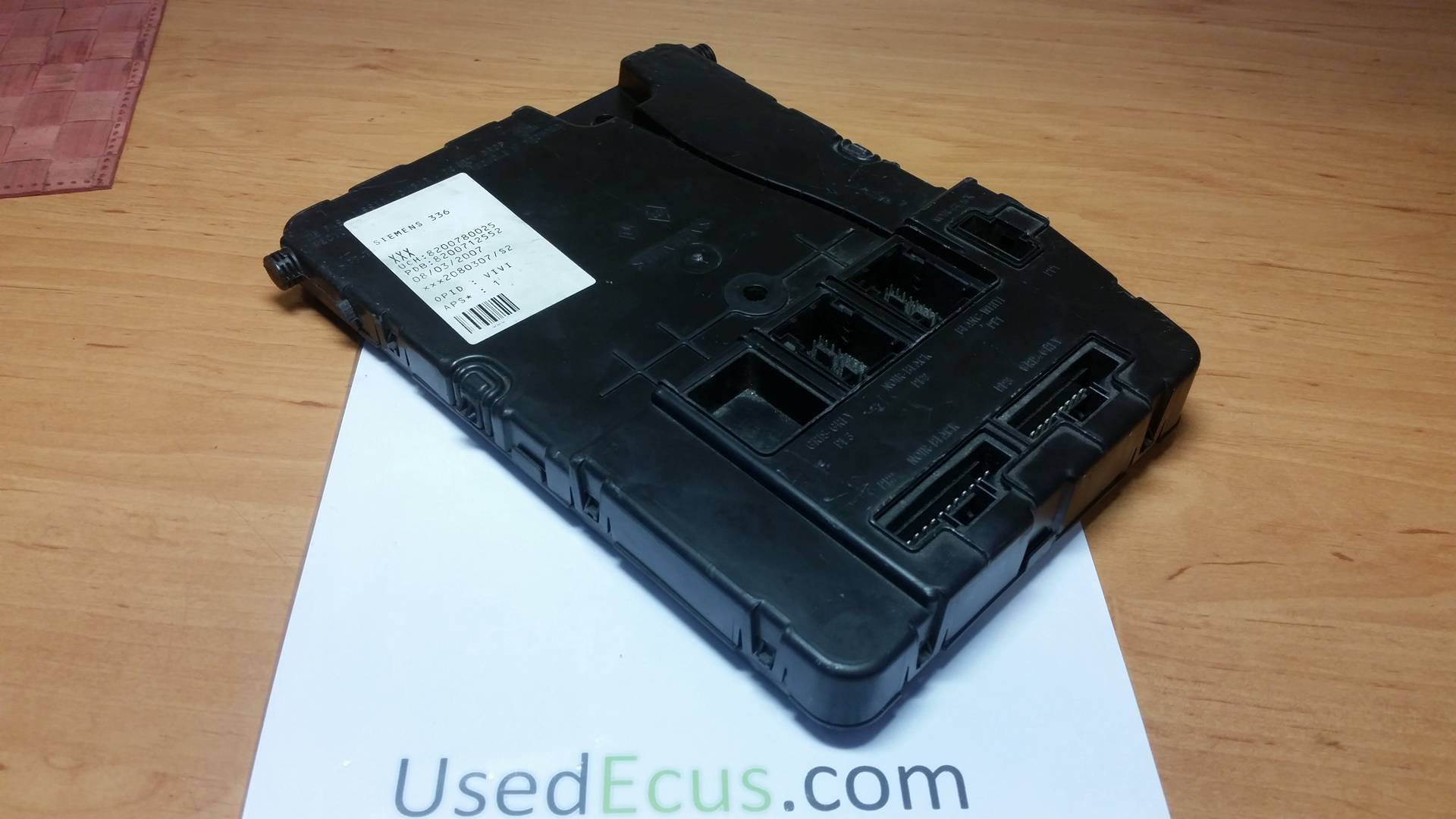 Siemens Fuse Box Wiring Library Renault Scenic For Sale Megane Mk2 Oem Article 8200780025