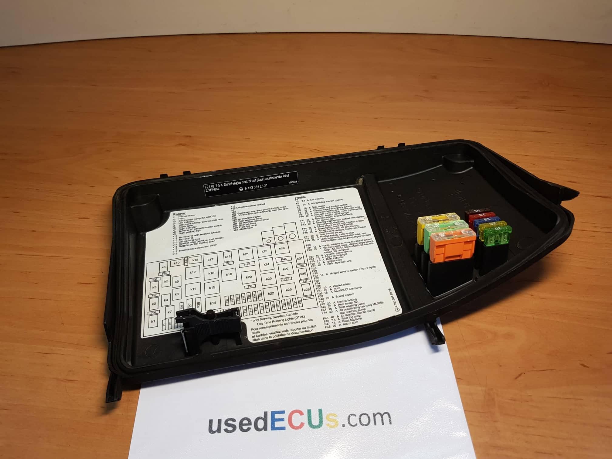 1998 Ml320 Fuse Box Info
