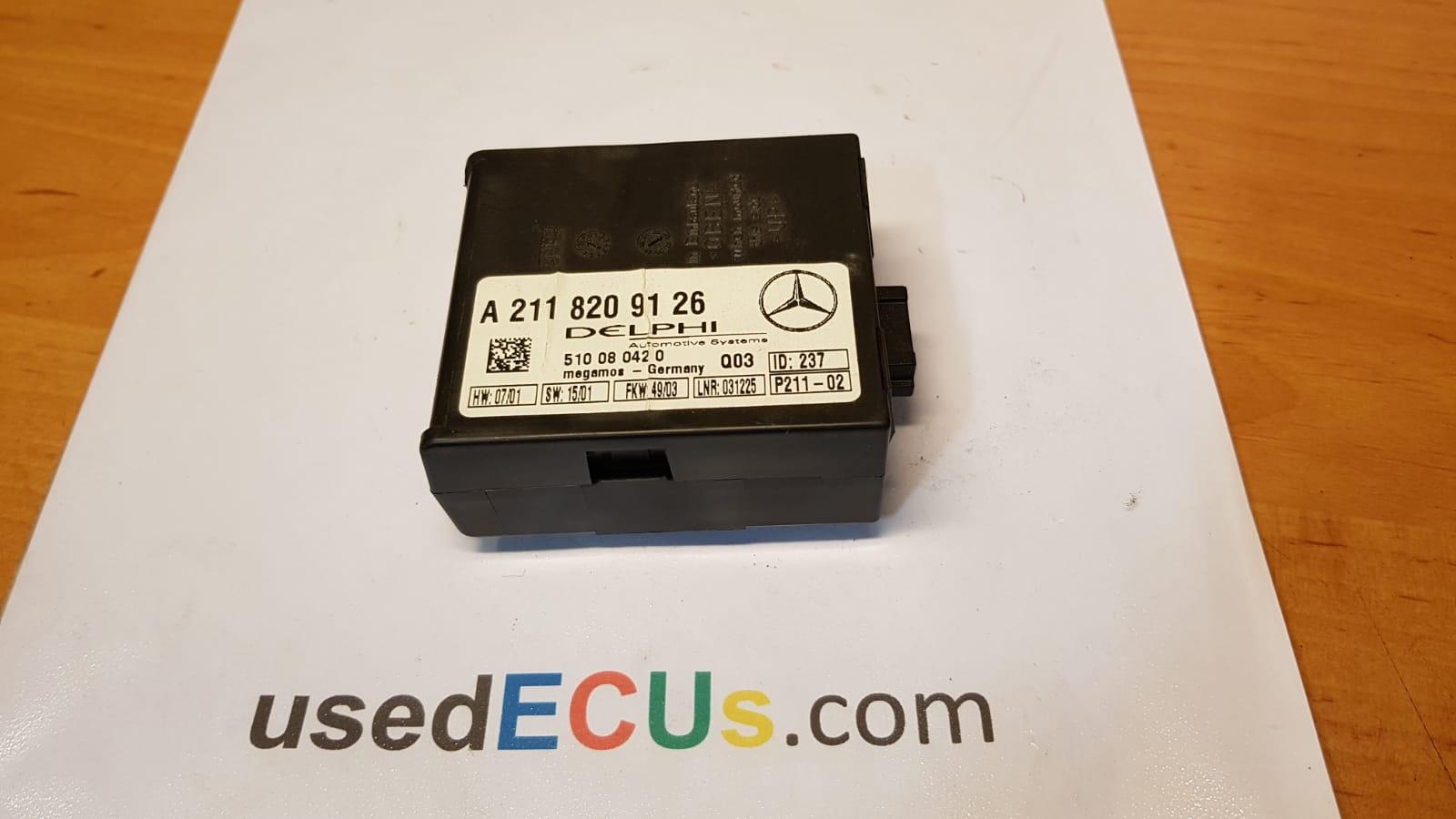 Details about  /Control of The Unit Of Alarm Immobiliser Mercedes Q03 A2118209126 510080420