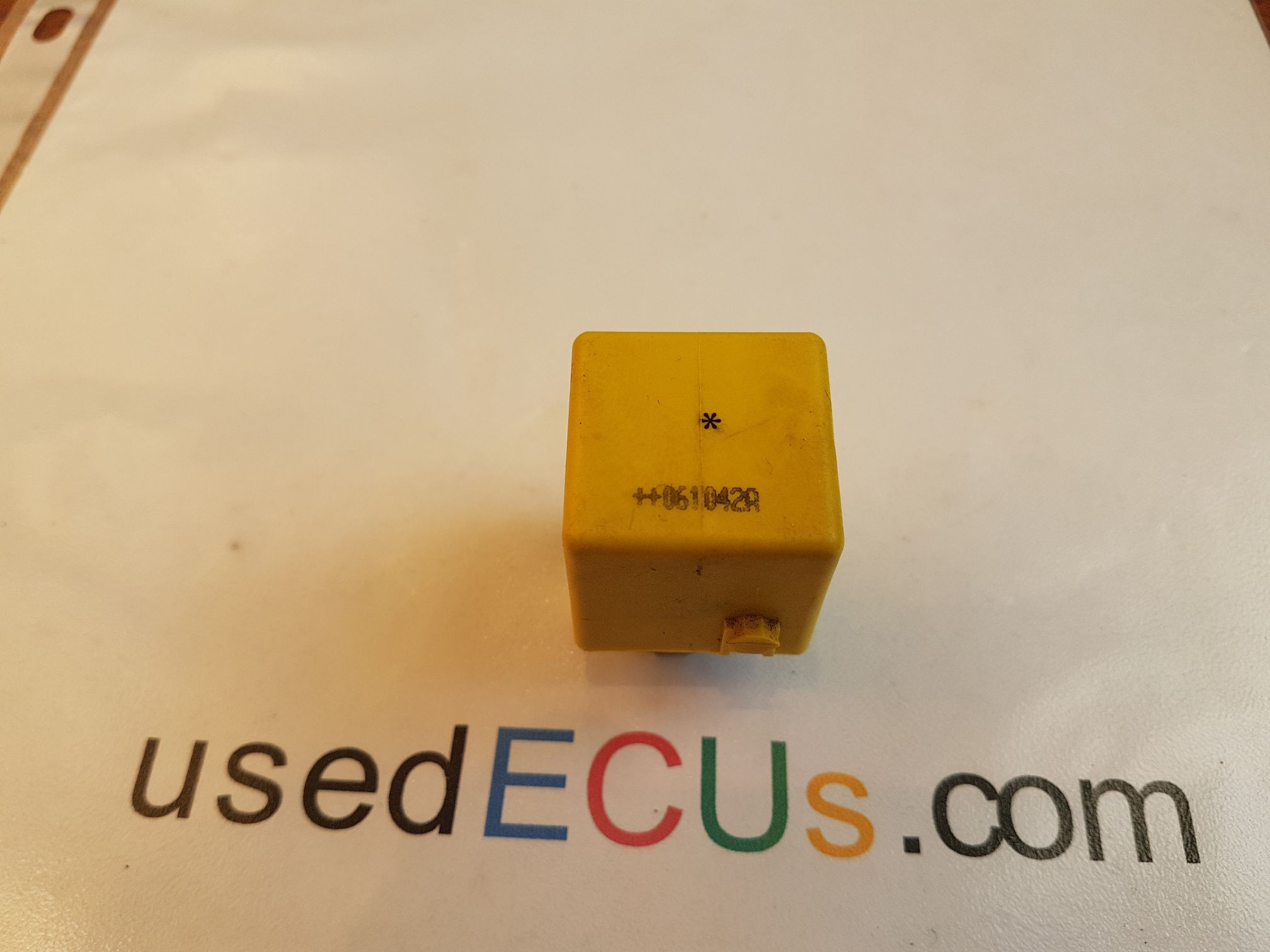 MERCEDES M S C E Class Multi-Use Yellow Relay, RELAY, Smart Roadster