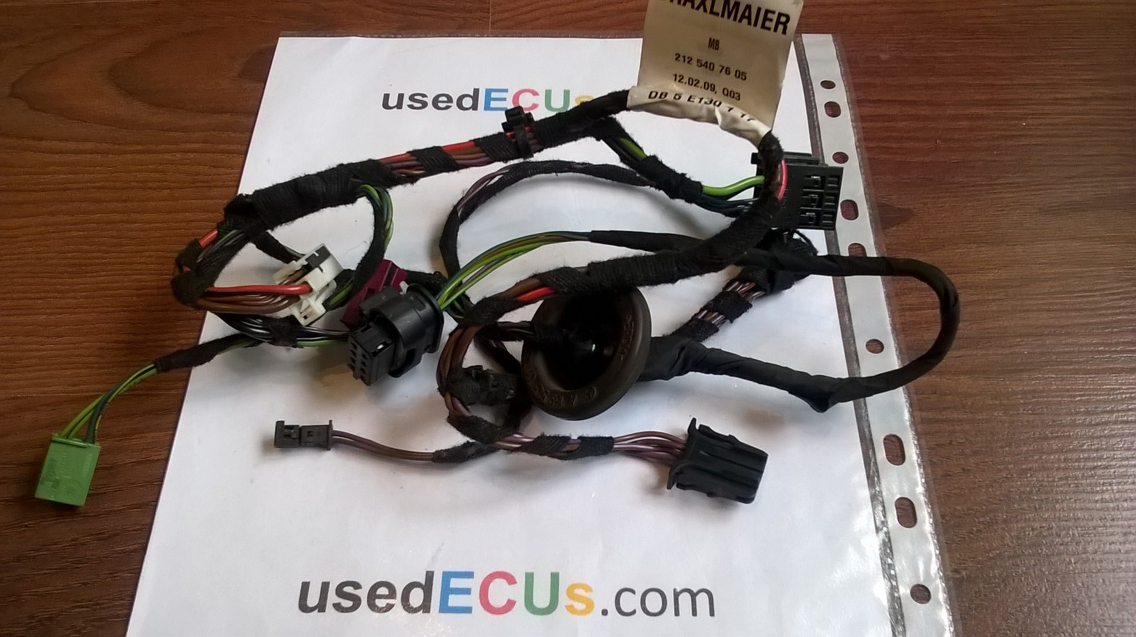 Outstanding Mercedes Benz E Class W212 09 16 Rear Door Wiring Loom Harness Wiring Cloud Hisonuggs Outletorg