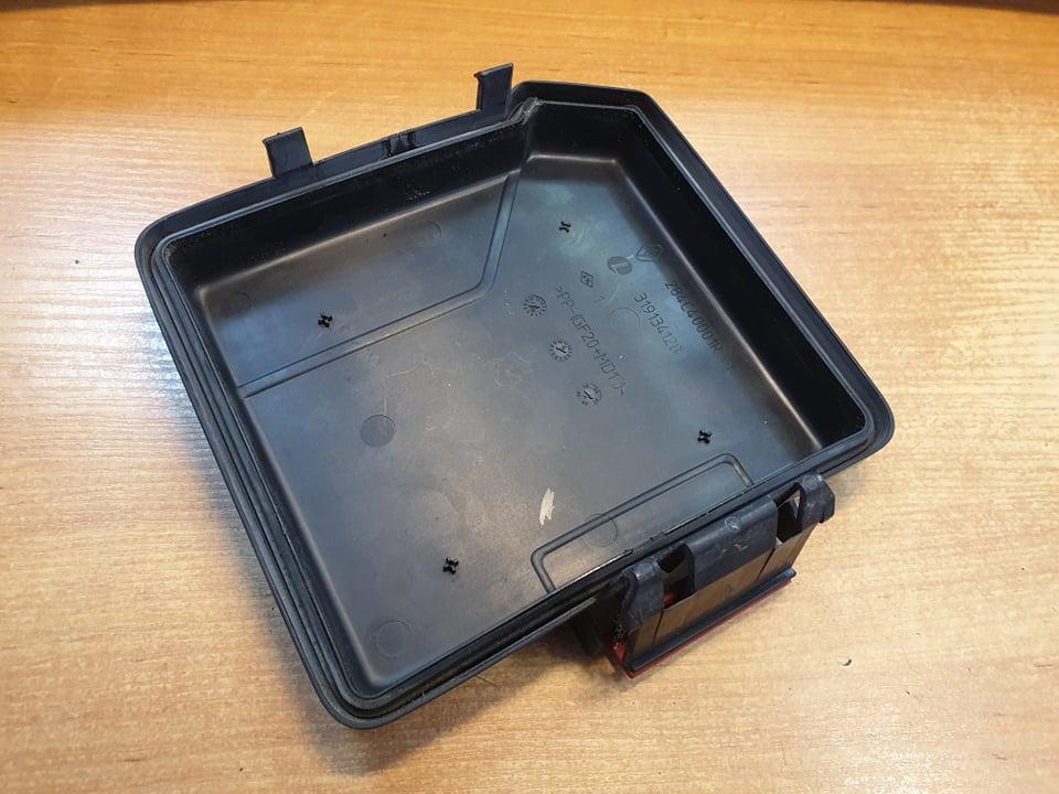 renault laguna mk3, 2008, 2,0 dci, fuse box cover, 284c40001r, 319134128 -  usedecus.com  catalog - usedecus.com